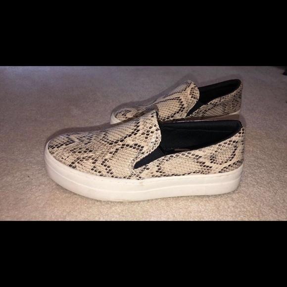 Target Shoes   Snake Skin Slip On